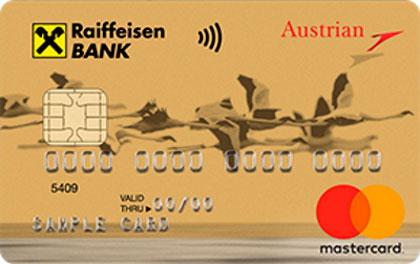 Кредитная карта Austrian Airlines Райффайзен Банк