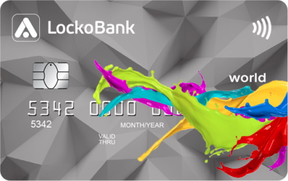 Дебетовая карта ЛокоЯрко ЛокоБанк